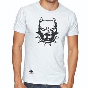 Playera Orco Diseño Perros Pit Bull 100% Algodón