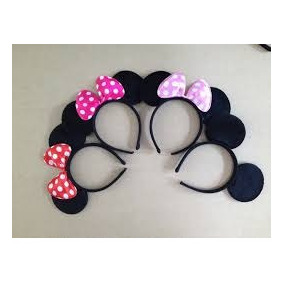 Orejas De Mickey Y Minnie Mouse