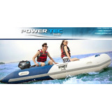 Bote Inflable Power Tec De 4.20 Mts, Piso De Aluminio-