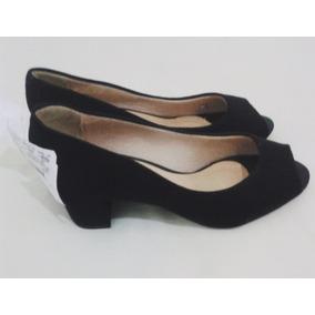 Sapato Feminino Peep Toe Da Beira Rio