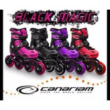Oferta Patines Canariam Black Magic Semiprof. + Protecciones