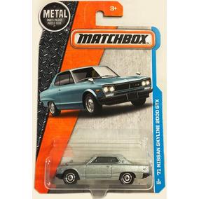 Auto Matchbox 71 Nissan Skyline 2000 Gtx Retro Colec Rdf1