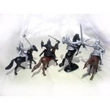 Conjunto Miniaturas - Cavaleiros P/ Rpg, Wargames, Tabuleiro