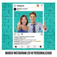 Marco Instagram Version Actualizada Personalizado Imprimible
