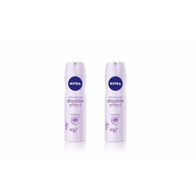 Desodorante Nivea En Spray Double Effect Violet Senses X 2