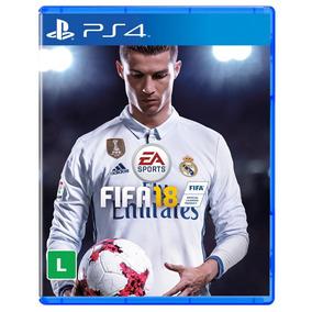 Fifa 18 Ps4 - Jogo Game Fifa 2018 Mídia Física Oferta