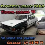 Repuestos Toyota Corona 93