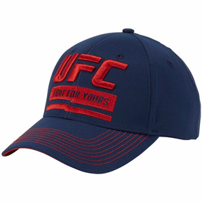 Gorra Ufc Respect The Fight Adulto Ajustable Reebok Bm7255