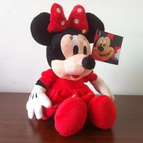 Pelúcia Minnie Vermelha Musical Disney