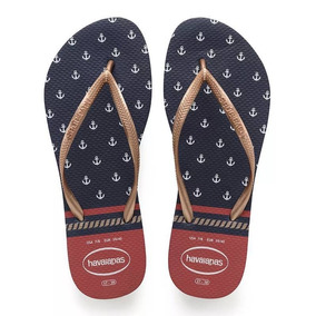 Sandália Chinelo Havaianas Slim Nautical