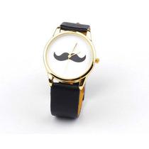 Reloj Moustache Importado Unisex