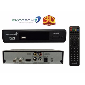 Conversor Tv Digital Hdtv Ekotech Zbt 670n Frete Grátis