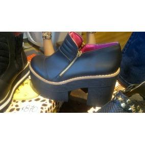Bota Zapato Con Plataforma Oferta Ultimo Par !!!aprovecha !