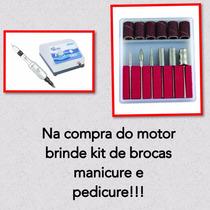 Micro Motor Beltec Lb100 Lixa Unha Fibra Manicure Podologia
