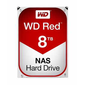 Hd Wester Digital Red 8tb 5400rpm Sata3 6gb/s 128mb Wd80efzx