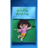 Capa Caderneta De Vacinação Ou Cadernos Dora Aventureira