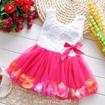 Vestido Infantil Bailarina Para Criança Festas E Aniversário