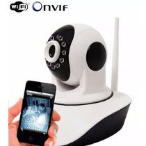 Camera Ip 1.3 Mp Alta Resolução Hd 720 P2p Micro Sd Wireless