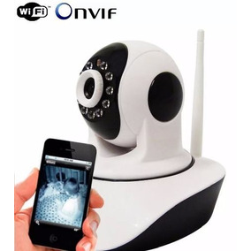 Camera Ip 1.3 Mp Resolução Hd 720p P2p Micro Sd Wireless