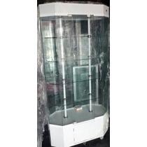 Vitrina Aparador Exhibidor Mostrador Metalico 85cm. Largo
