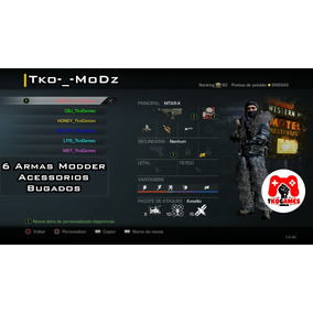 Armas Modz Ghosts Ps3