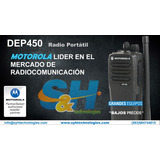 Motorola Dep450 Nuevas!!! En Vhf O Uhf
