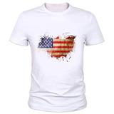 Remera Nueva Bandera De Ee. Uu. Camiseta De Los Hombre