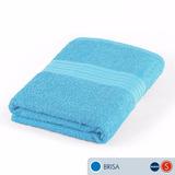 Toalla Ama De Casa Sensación Baño 132x68 Cms Brisa Azul