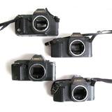 X4 Cámara Fotográfica Canon 2 T70 + 2 T50 Análoga Réflex