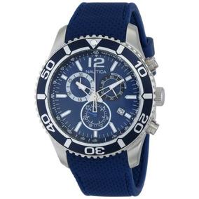 09 Reloj De Acero Inoxidable N G Nst Nautica De Los Hombres