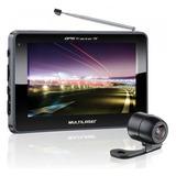 Gps Tracker Tela 5 Câmera De Ré Touch Tv Digital Multilaser