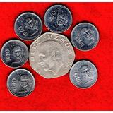 Colección Monedas Diez Pesos 1985 A 1990 A1 50a