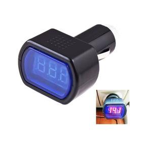 Voltímetro Digital Automotivo 12-24v Bateria Carros
