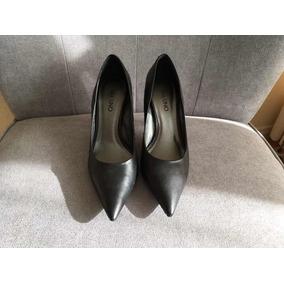 Zapatos Vía Uno 37 Negros