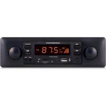 Radio Automotivo Powerpack Tcsd-2316 Sd Usb Laranja