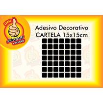 Adesivo Decorativo Vinil Banheiro, Cozinha- Pastilha 15x15cm