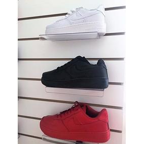 Zapatillas Nike Air Force1 Rojas Negras Blancas Rosas Azul