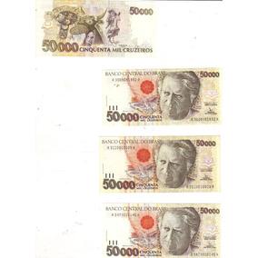 Cédula 50.000 Cruzeiros, Serie C-226, Dinheiro Antigo