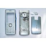 Carcaça Nokia X2-00 Prata