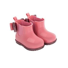 Galocha Zaxy Nina Boot Lançamento, Bota Menina -mini Melissa