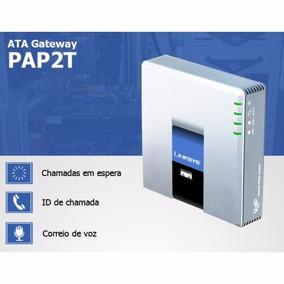 Pap2t Ata Voip Cisco Linksys 2portas Fxs