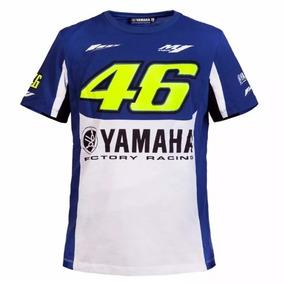 Blusa Camisa Valentino Rossi - Yamaha Azul