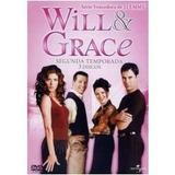 Will & Grace 2ª Temp Completa Com 3 Dvds Lacrado
