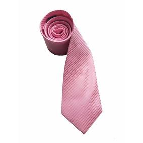 Gravata Rosa Riscada Semi Slim Padrinhos Casamentos