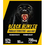 10 Potes De Tribulus Black Hunter 90 Caps 62%