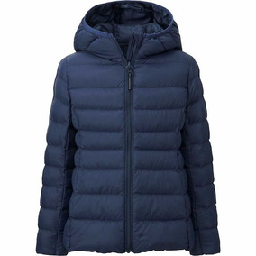 Camperas Uniqlo 100% Original Niño/a Light Warm Padded Parka