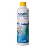 Natabio Bactericida Piletas De Lona Libre Cloro Uso Mensual