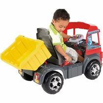 Caminhão Pedal Truck Vermelho 9300 - Magic Toys