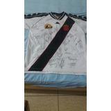 Camisa Do Vasco Autografada (campeão Brasileiro E Mercosul)