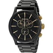 Reloj De Acero A Sentry Chrono Nixon Hombres